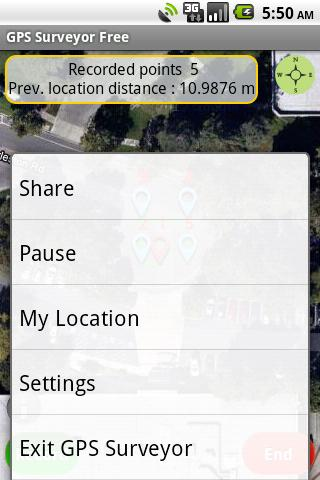 GPS Surveyor Free - screenshot