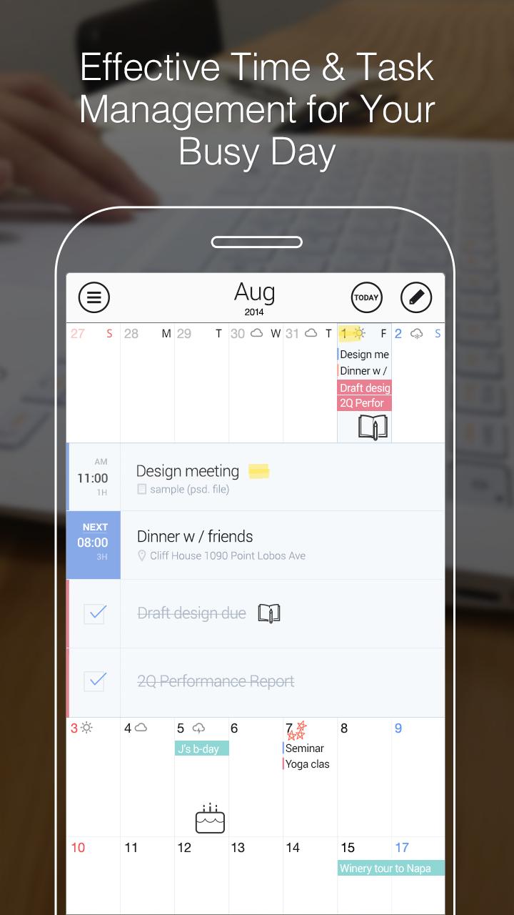 SolCalendar - Calendar / To do screenshot #2