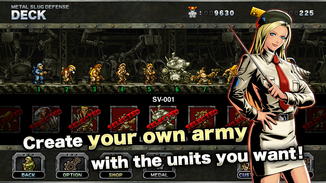 Скачать metal slug defense 1. 46. 0 для android.