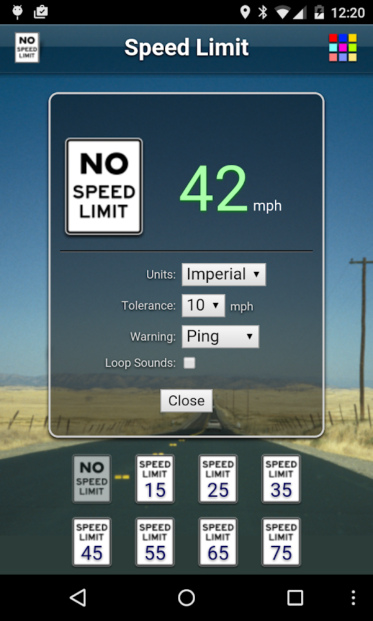 Speed Limit Free Android Apps On Google Play - Us highway speed limits map