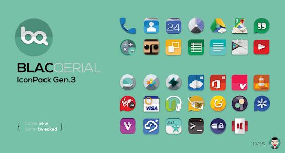 Blacqerial IconPack v2.6