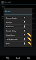 Screenshot of Chess Clock
