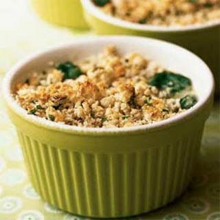 Individual Spinach-Asiago Gratins