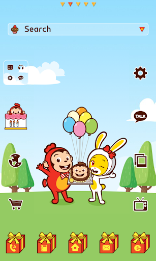 CocoParty dodol launcher theme