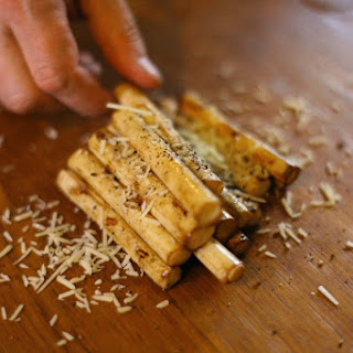 Grilled Parmesan Hearts of Palm
