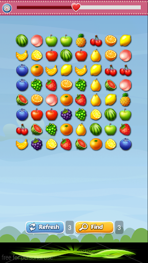 Fruit Link Link - Match Fruits