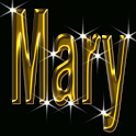 Mary Gold Name icon