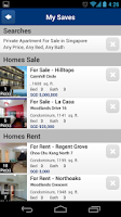 Screenshot of Singapore Property Search