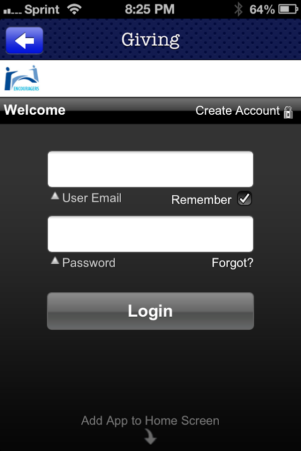 Encouragers Church - screenshot