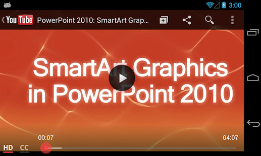 GCF Answers for PowerPoint - screenshot thumbnail