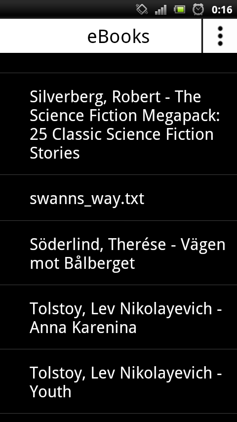 Solati Reader- screenshot
