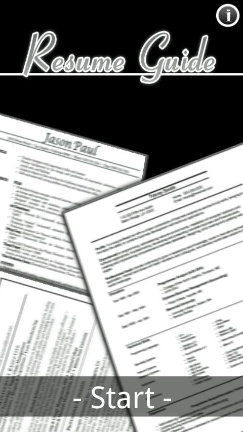 Smart Résumé Tips - screenshot