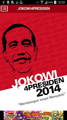 玩通訊App Jokowi4Presiden免費 APP試玩