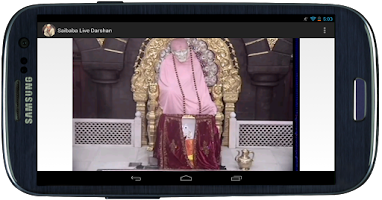 Screenshot of Shiridi Saibaba Live Darshan 2