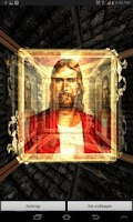 Screenshot of 3D Jesus Live Wallpaper