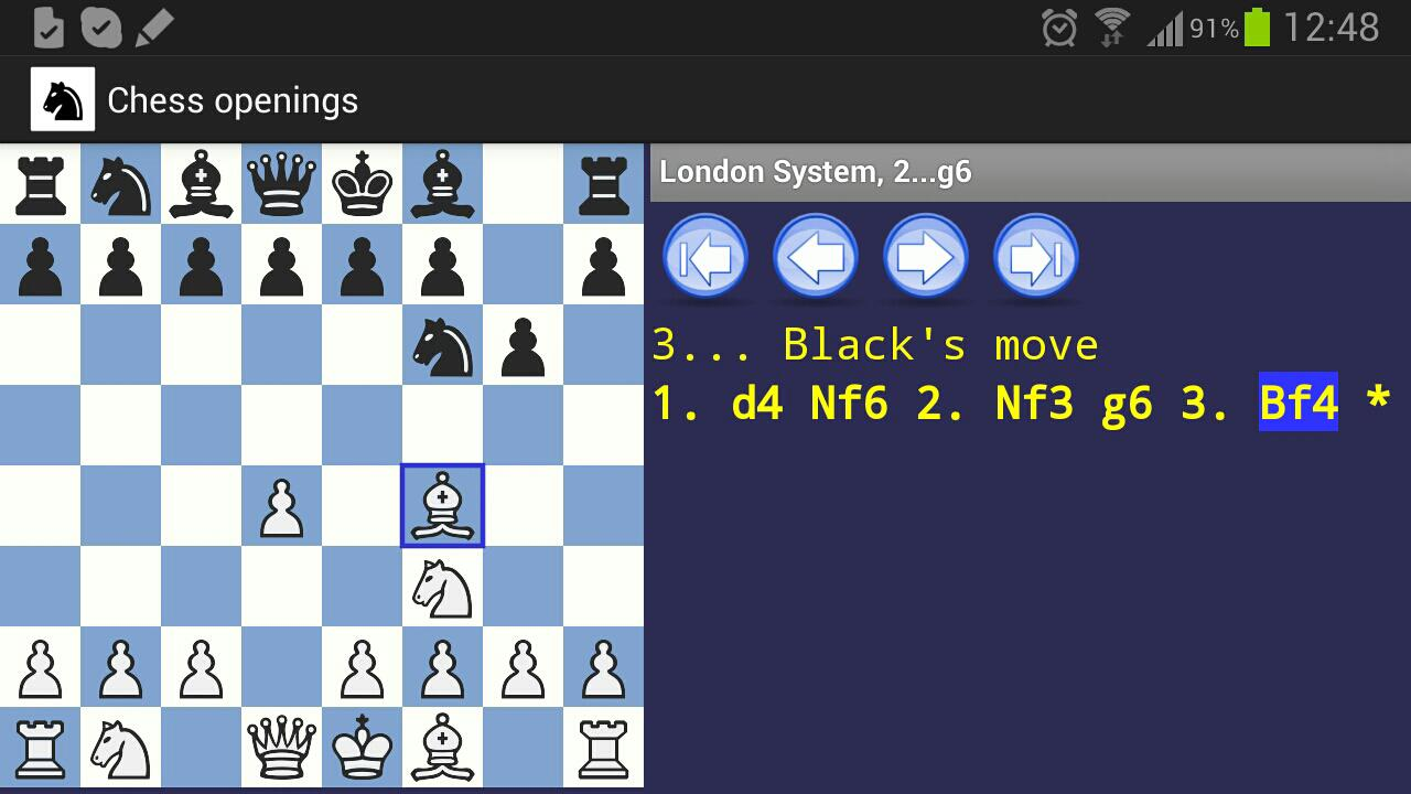 Chess Openings- screenshot