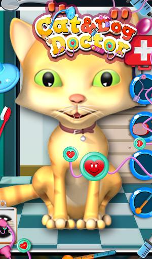 猫与狗医生 - 儿童游戏