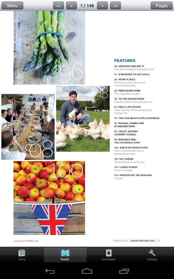 Eat British - Seasonal Recipes - screenshot