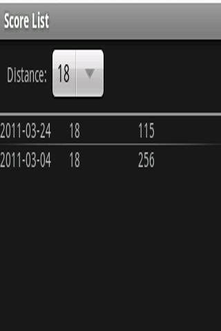 Archery Score Book- screenshot