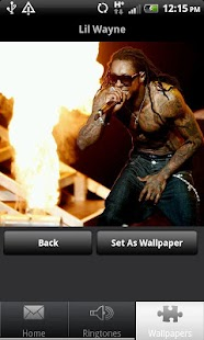 lil wayne ringtones and walls - screenshot thumbnail