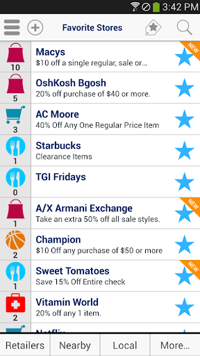Coupons and Shopping GeoQpons