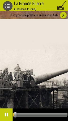 Grande Guerre Canon de Coucy