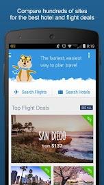 Hipmunk Hotels & Flights Screenshot