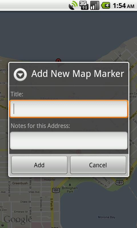 Location Saver- screenshot