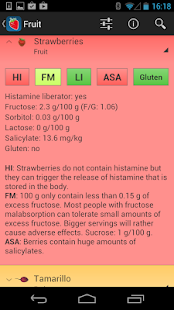 Food Intolerances - screenshot thumbnail