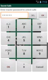 Secret Safe Password Manager - screenshot thumbnail