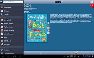 Screenshot of iMLS