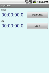 Lap Timer- screenshot thumbnail