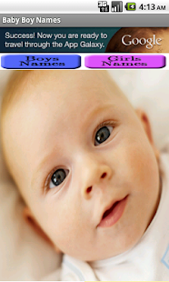 Baby Boy Names -FREE-- screenshot thumbnail