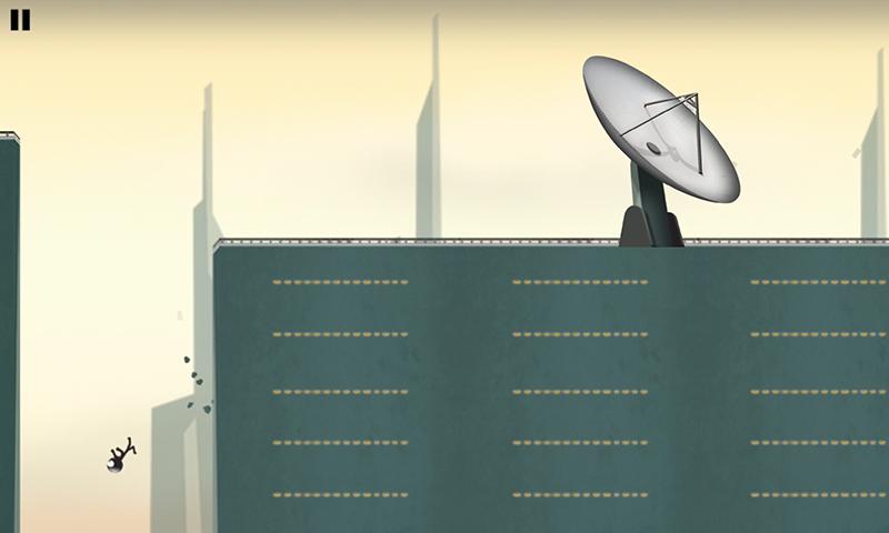 Stickman Roof Runner - screenshot