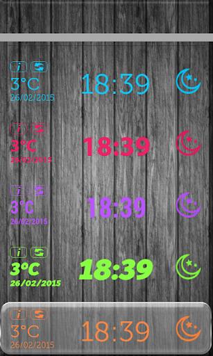 無料天气Appのタブレット 天気時計ウィジェット|記事Game