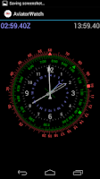Screenshot of Aviator Watch