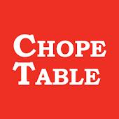 ChopeTable