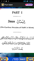 Screenshot of Pure Islam