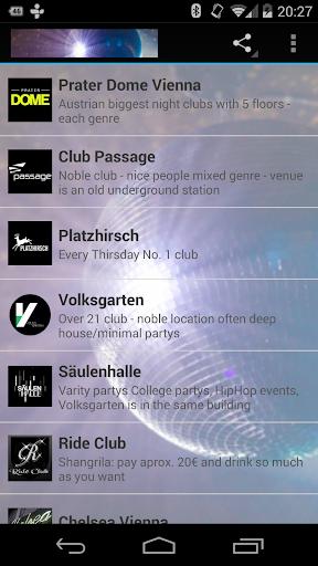Best Clubs in Vienna