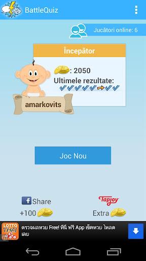 Battle Quiz Romania