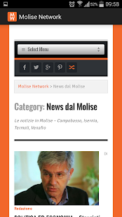 Molise Network- miniatura screenshot