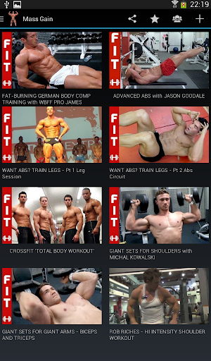 肌肉鍛煉及健身