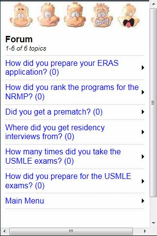 USMLE, ERAS, NRMP - screenshot