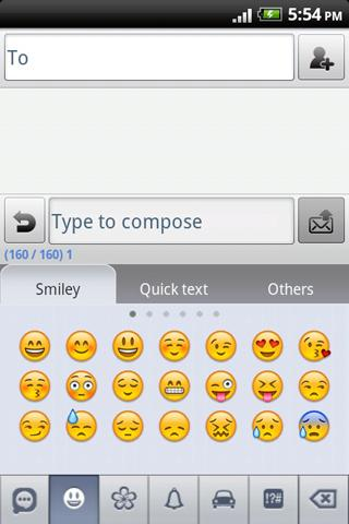 Easy SMS Emoji Plugin- screenshot