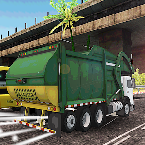 Garbage truck runner for PC and MAC