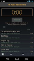 Screenshot of HD Audio Recorder