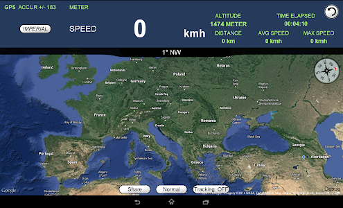 GPS Speedometer Altimeter  + screenshot 5