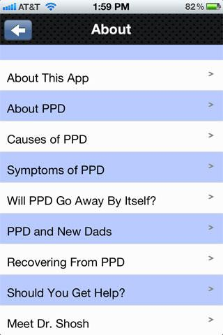 PPD Gone- screenshot