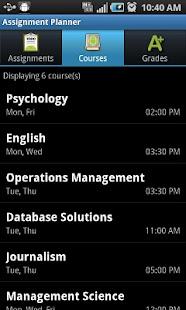 Assignment Planner PRO - screenshot thumbnail