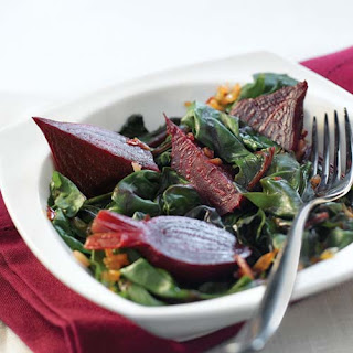 Beets & their Greens with Shallots & Citrus